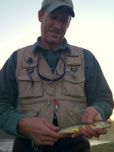 Stephen Rose with a Brown from Coon Creek