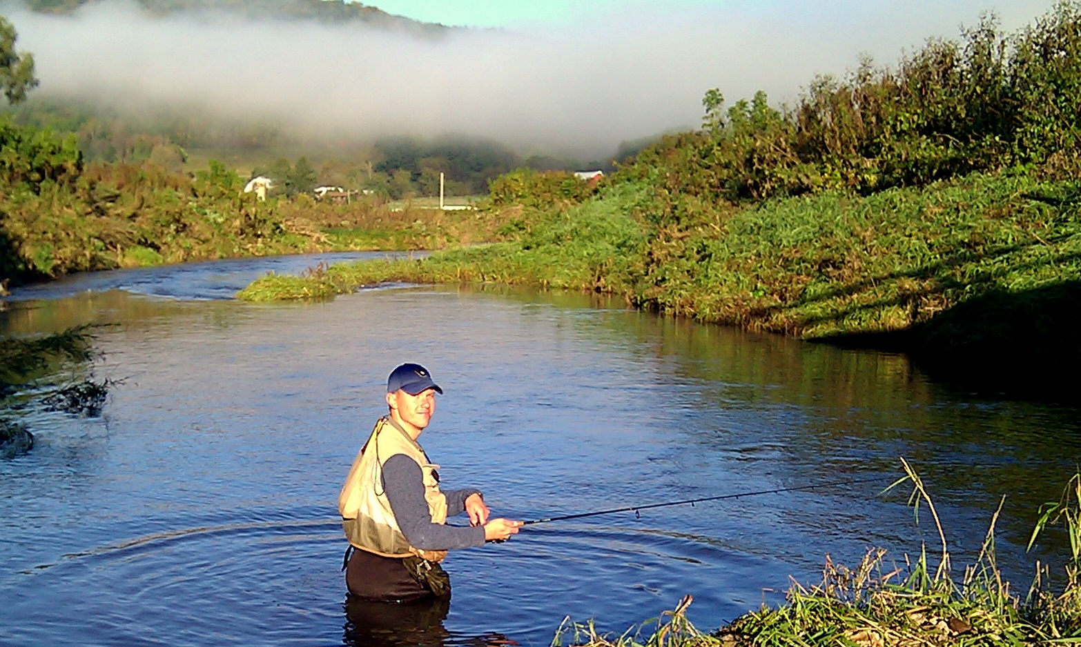 Vernon county in late september seeking trout for Trout fishing wisconsin