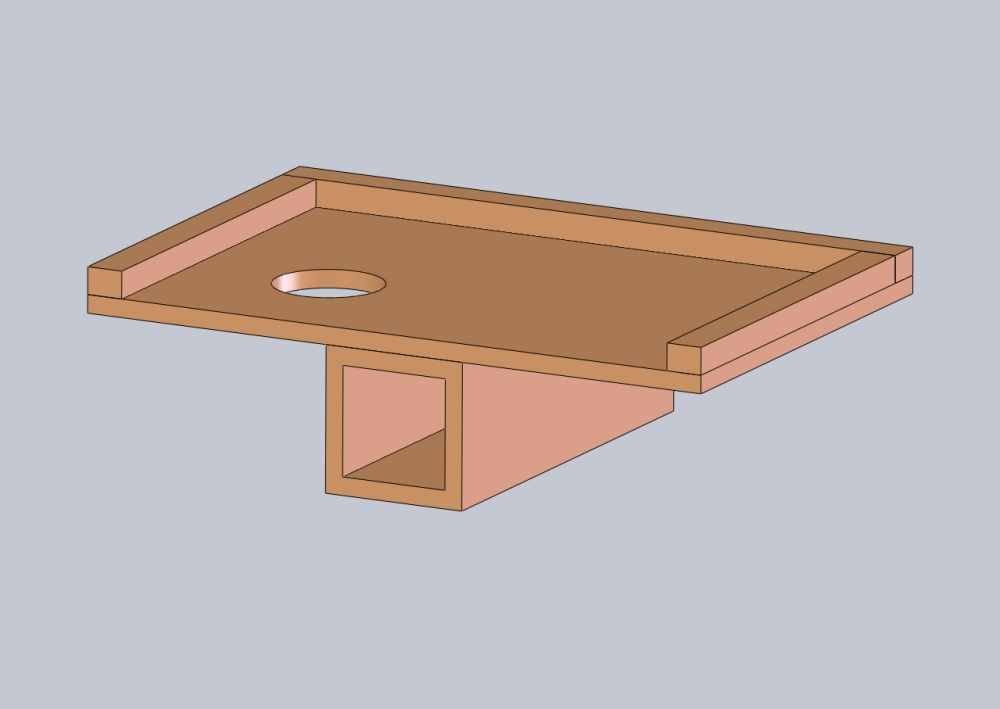 Mobile fly tying table by Stephen Rose
