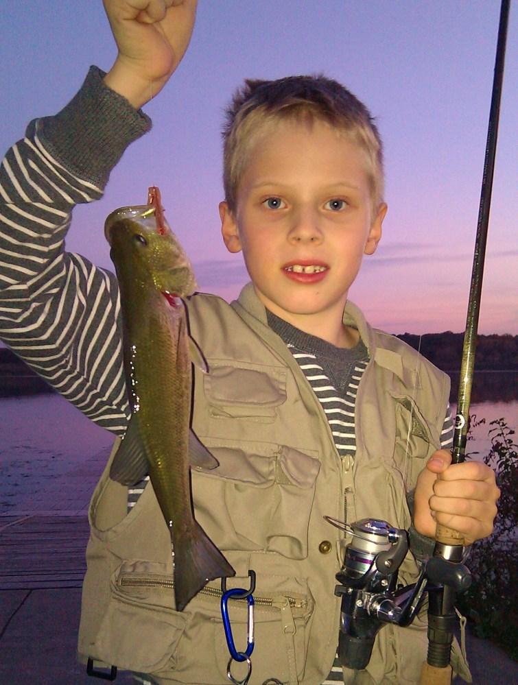 Bode's Lake Wingra Bass - October 12th