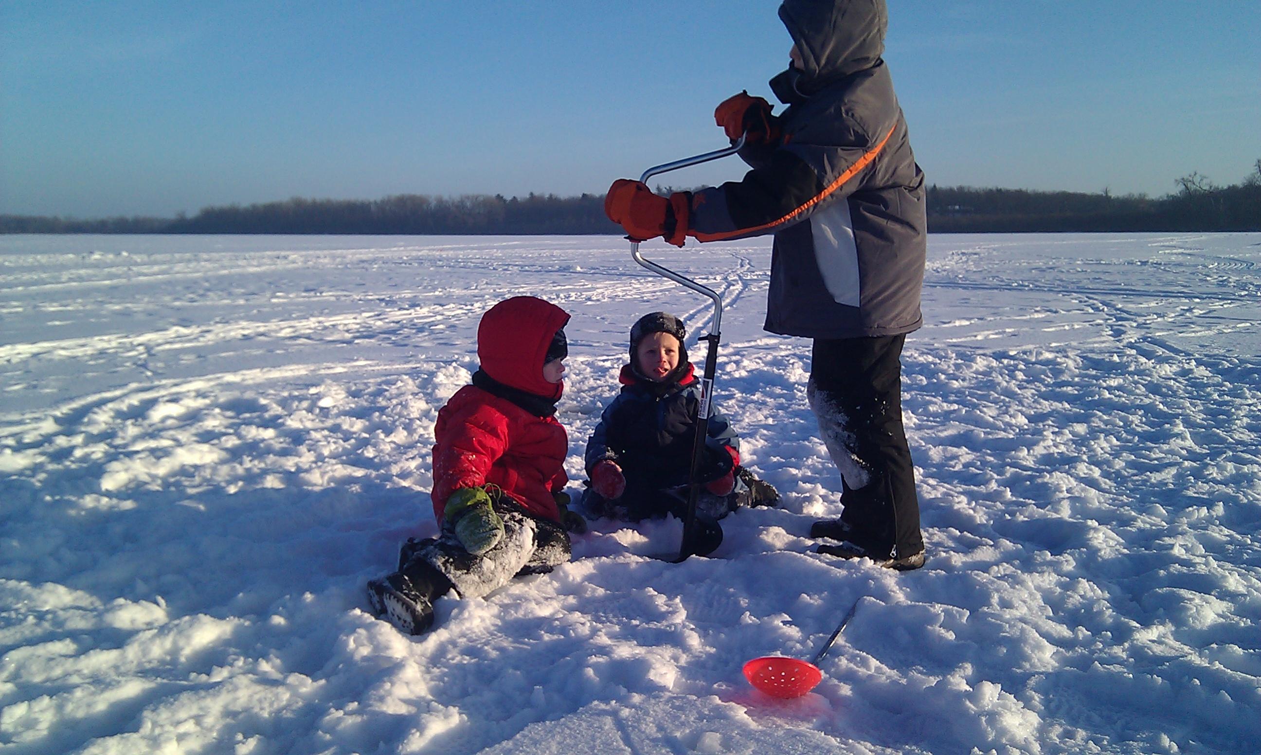 Walking By Wingra Creek In Snow >> Winter Seeking Trout Page 5