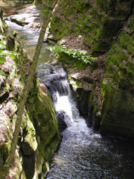 The Waterfall at Pewit's Nest