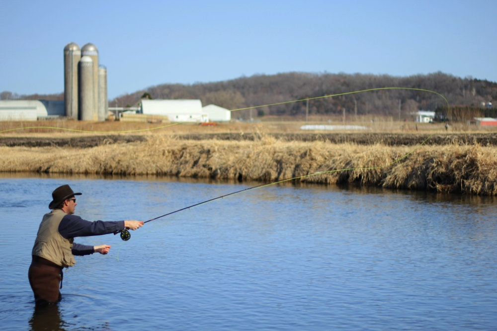 This is Midwestern Trout Fishing