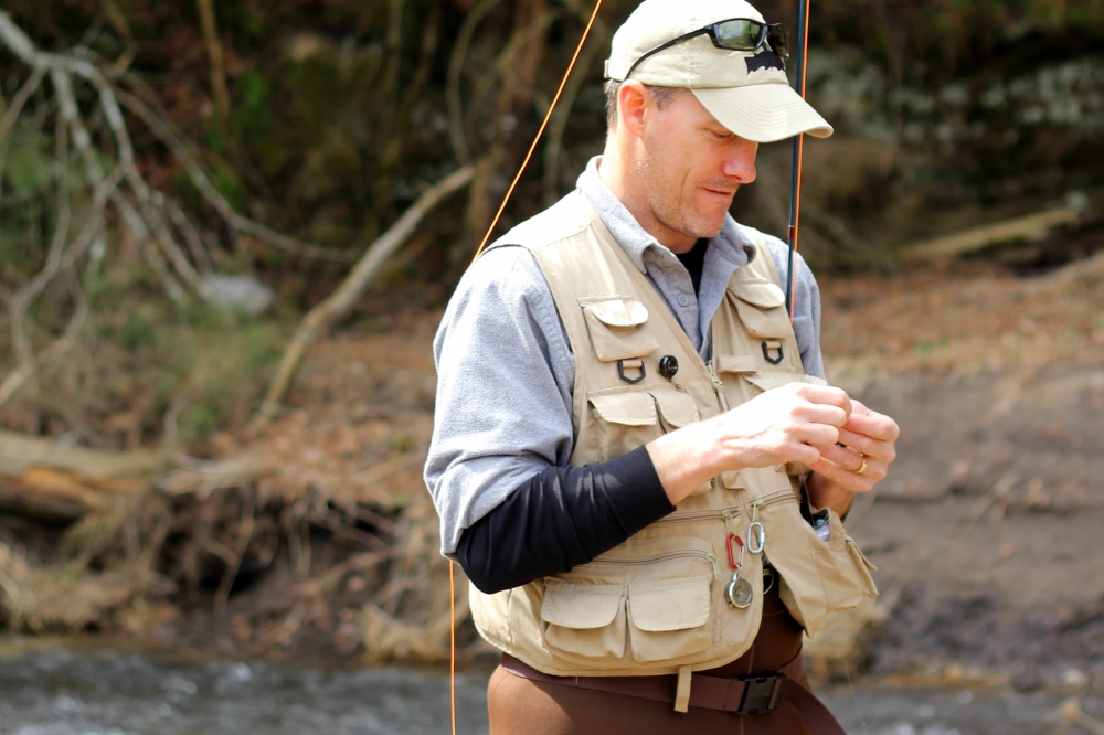 Stephen Rose, Successful Fly Fisherman