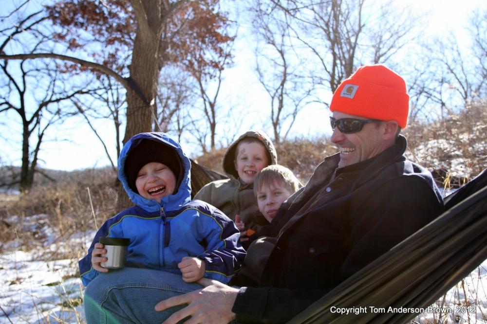 Shep, Joe, Bode, and Stephen, Donald County Park, Dane County, Wisconsin