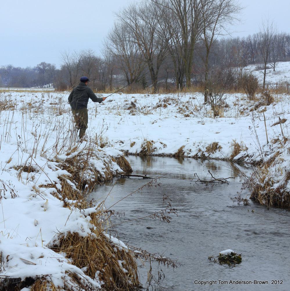 Stephen Rose on Flint Creek, Iowa County, Wisconsin