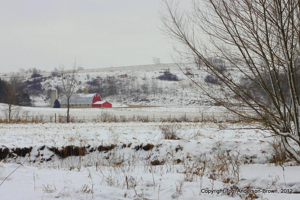 Driftless Barn, Iowa County, Wisconsin