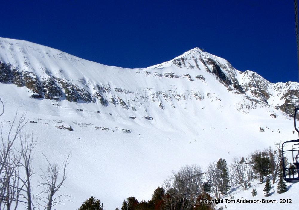 Lone Peak at Big Sky.