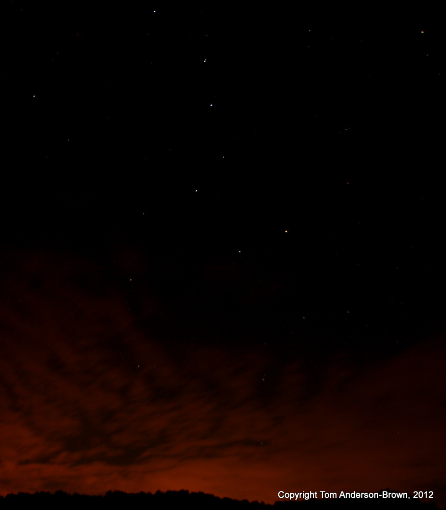 The Big Dipper above Wisconsin's Driftless