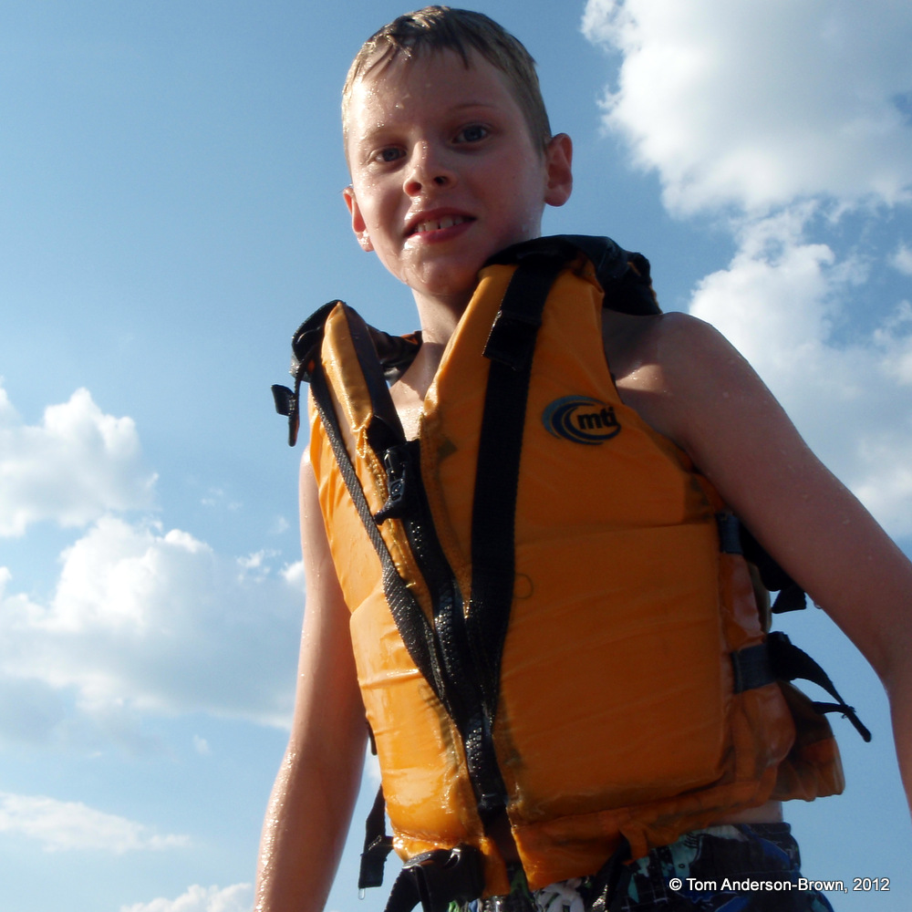 Bode, King of the Paddleboard.