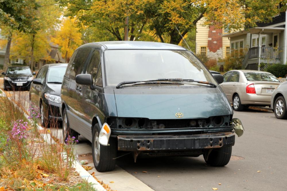 "My 1994 Previa Minivan, affectionately named the ""Jay Ford Thurston"""