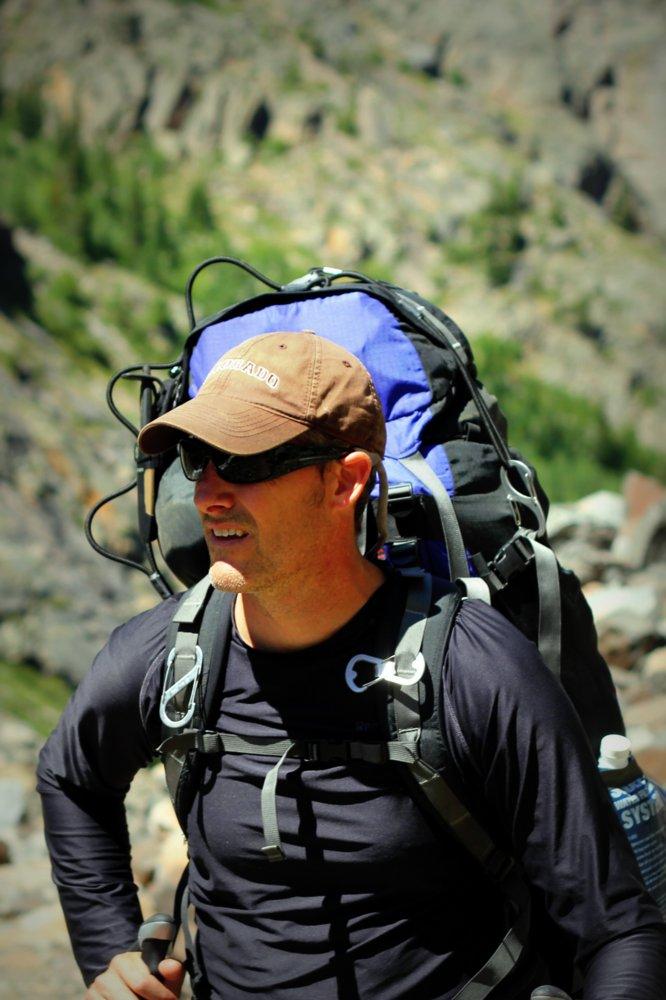Stephen Rose on the East Rosebud Trail