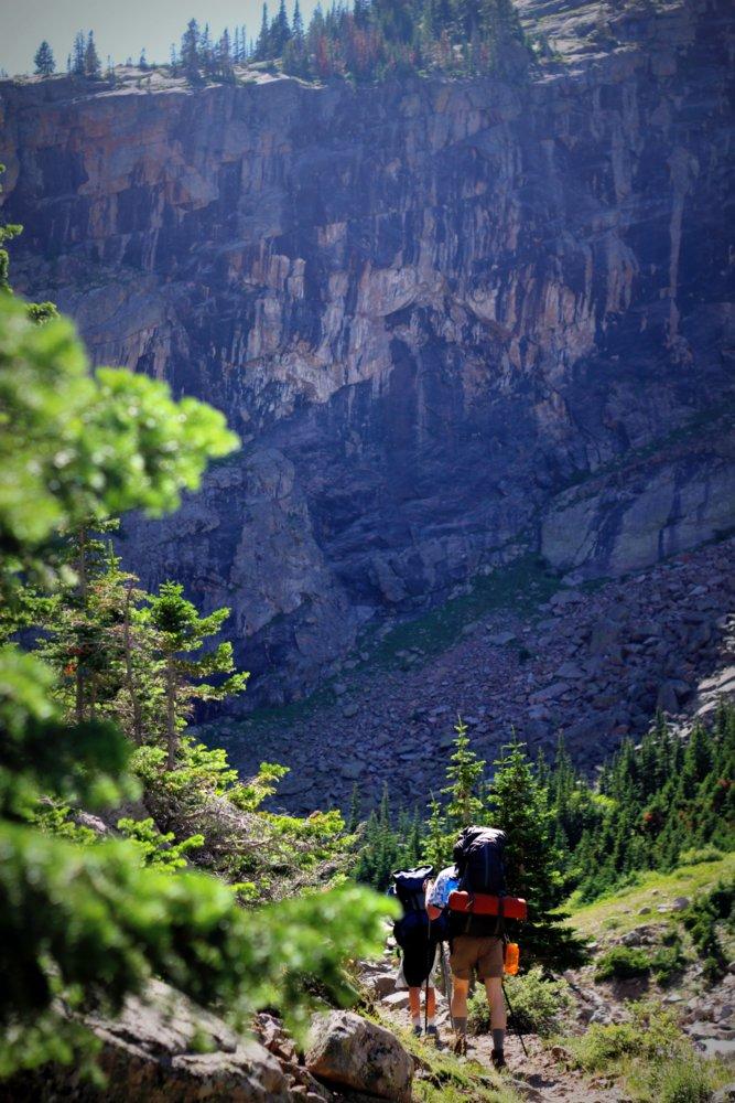 Onward and upward, East Rosebud Trail