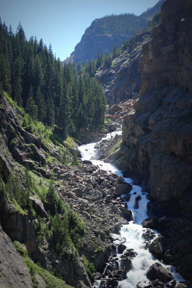 Incredible waterfalls were everywhere on the East Rosebud Trail