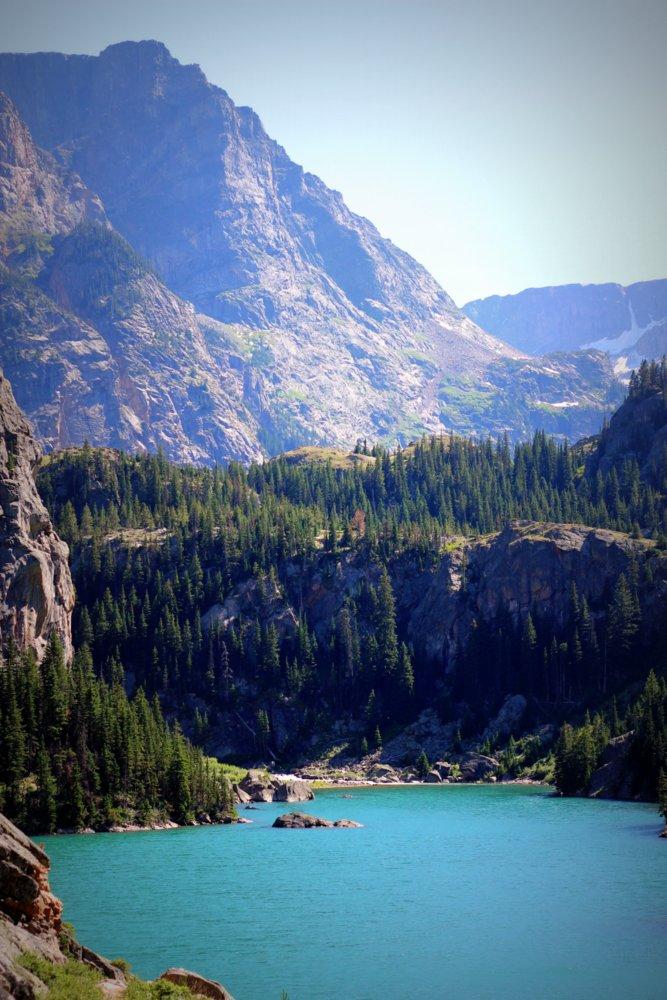 Rimrock Lake on the East Rosebud Trail