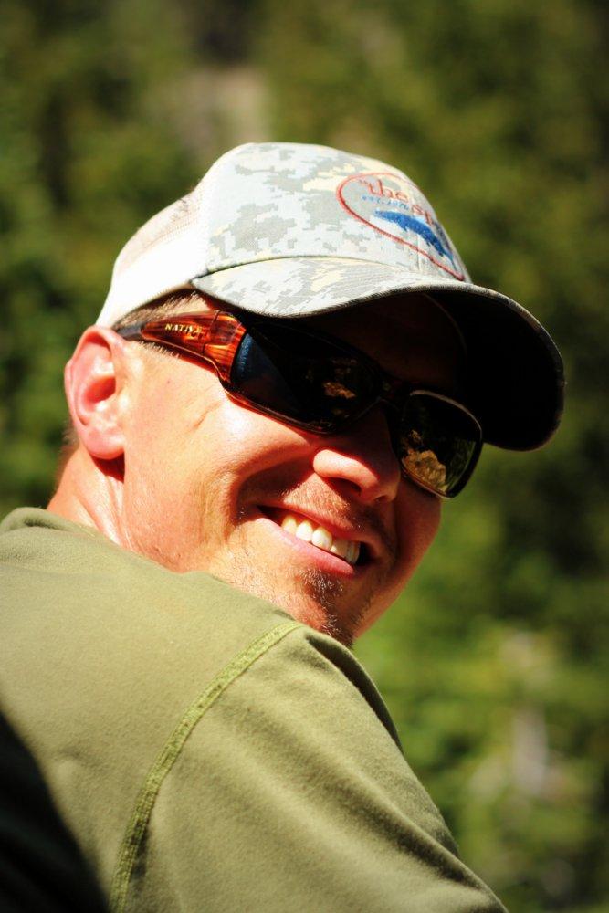 Tom on the East Rosebud Trail