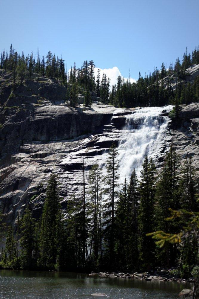 Impasse Falls of East Rosebud Creek
