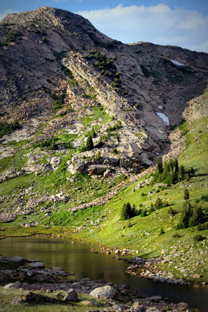 Where's Wes? Fossil Lake, East Rosebud Trail