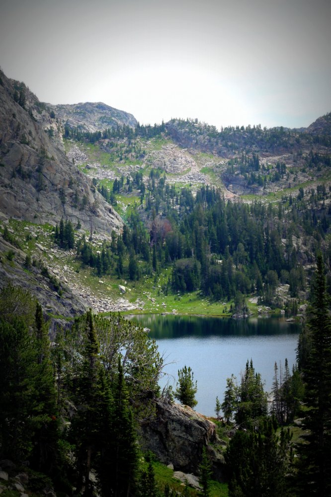 Bald Knob Lake, East Rosebud Trail