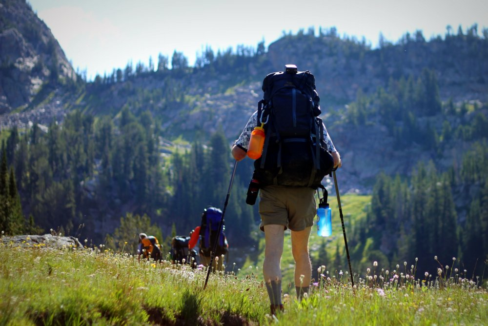 Heading West, East Rosebud Trail