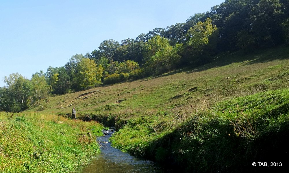 Wisconsin's Driftless Region in late September