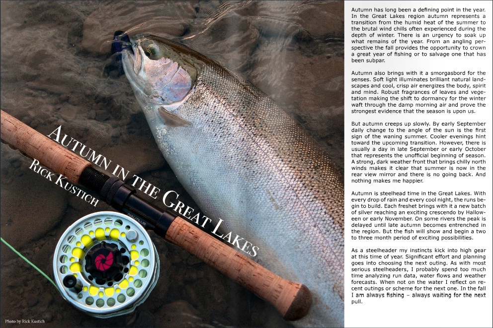 Click the Pic to go to the article - Copyright Rick Kustich/Swing the Fly